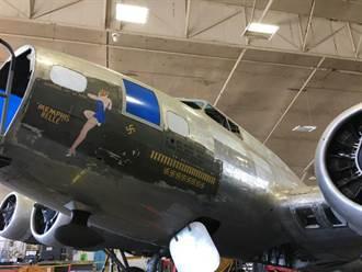 二戰傳奇「曼菲斯美女」轟炸機 明年將修復展出
