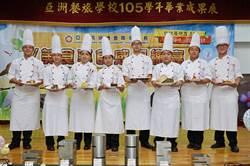 亞餐畢業展 享食美食感恩宴