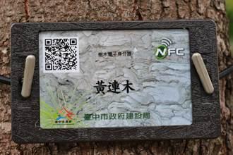 中市創行道樹電子身分證 掃QR Code一目了然