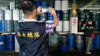 中橡林園碳煙廠非法清廢油泥 廠長50萬交保