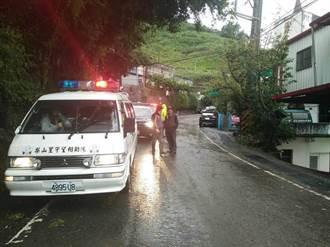 台中山區大雨持續 松茂、佳陽部落預防性撤離