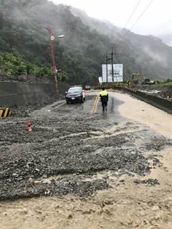 強降雨災情 南投仁愛鄉多處道路中斷