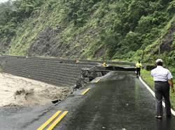 南橫公路坍塌交通中斷 高雄桃源3里成孤島