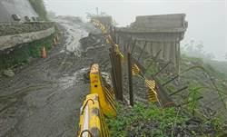 大雨路斷 南橫霧鹿晚間預警封閉 利稻以上7日才通