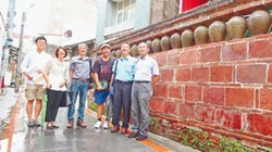 190歲北港甕牆 登錄歷史建築