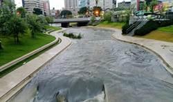 豪大雨驗證 柳川景觀河道快速排洪