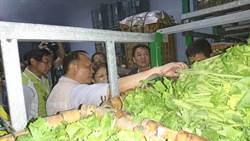 雨災菜價漲翻倍 農糧署:存貨充裕不必搶購