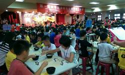超過700人冒雨來東港 競圍棋也拚觀光