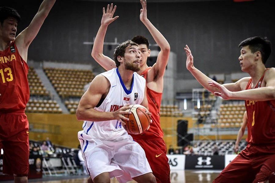 香港205公分混血中鋒惠龍兒將是5日中華男籃必須嚴防的對象之一。(取自FIBA官網)