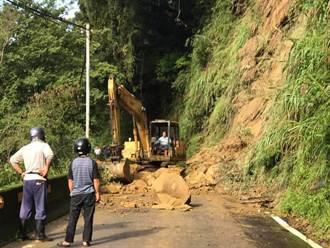 苗61線崩塌多 鄉公所修路經費少苦撐