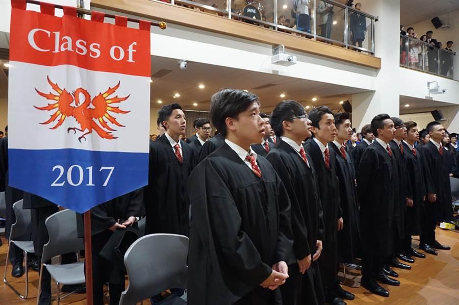 常春藤美式寄宿留學班(ICA)第11屆64位畢業生共取得海外104所知名大學的入學許可通知。(王文吉攝)
