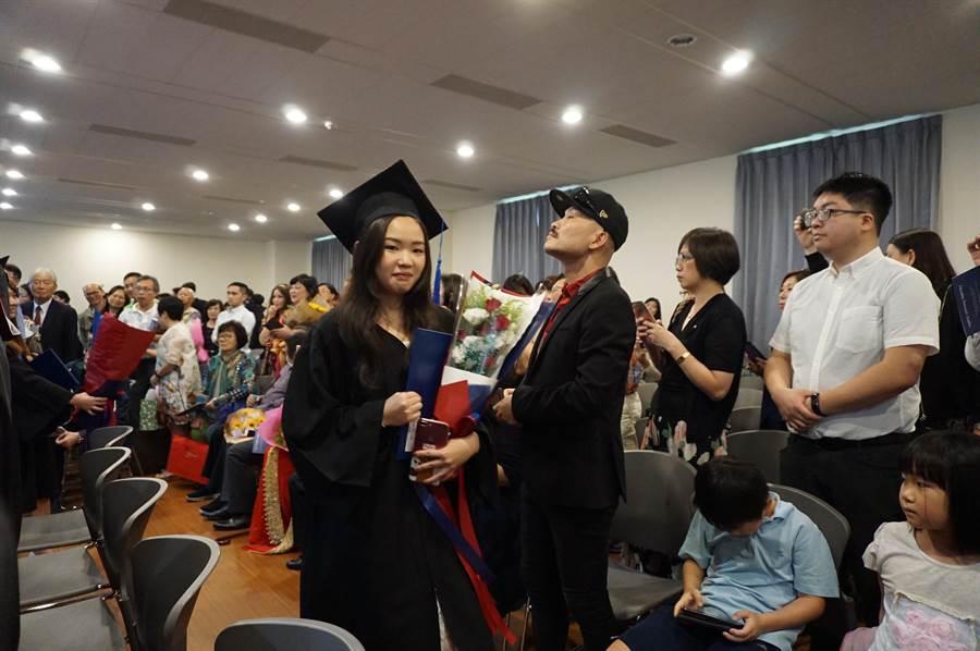 畢業生林芳岑夢想留學海外學建築,經ICA三年學習,獲得紐約3所名校入學許可。(王文吉攝)