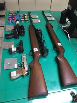 自改模型槍網售號稱威力強 中市警循線逮人