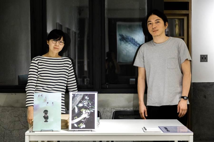 藝術家楊雅淳(左)與藝術家藤井智也(右)(圖╱朋丁 提供)