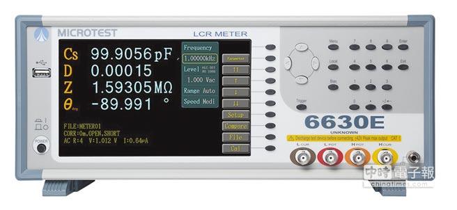 益和MICROTEST 6630E介面簡單易操作,是您最快上手的精密量測儀器。圖/業者提供