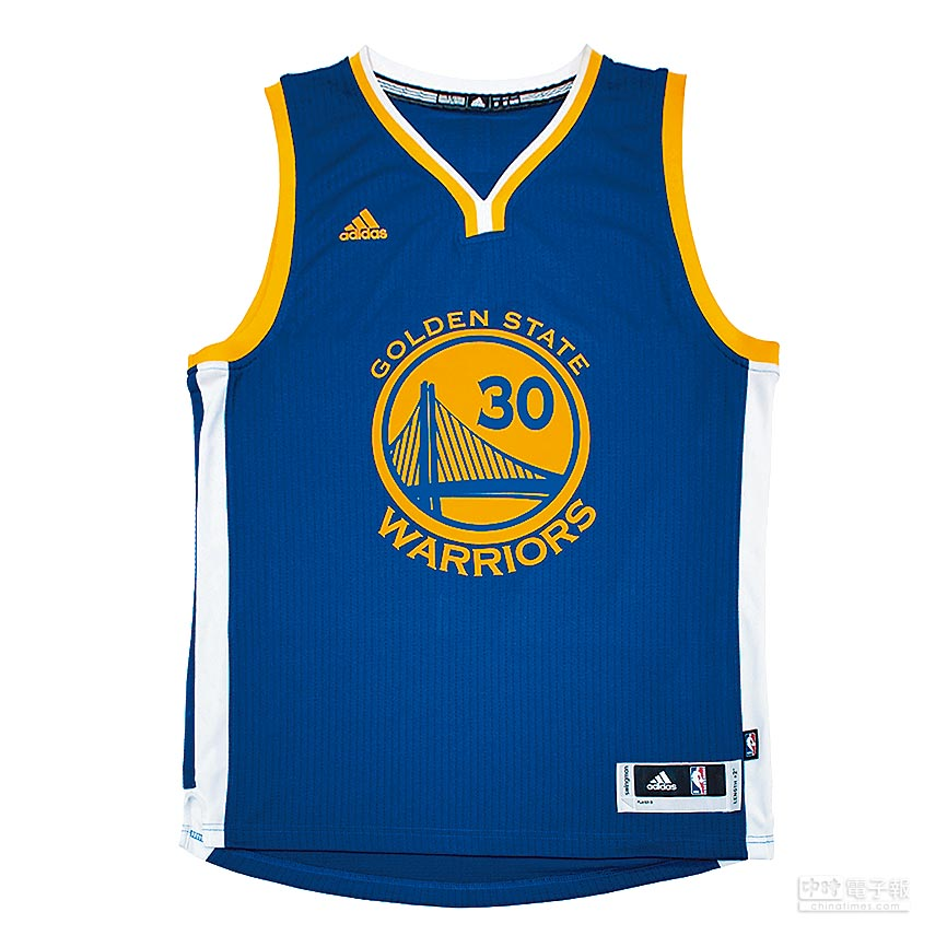 NBA球衣 STEPHEN CURRY,6折特價1614元。(京站提供)