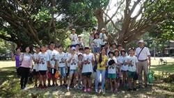 導覽老河神「隆恩圳」 小學生走讀社區