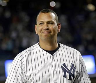 MLB》A-Rod、老爹明年候選 名人堂應不致從缺