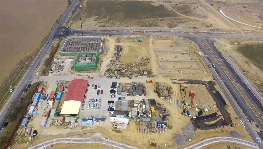 日本食研集團將在嘉義縣馬稠後產業園區1期設廠。(呂妍庭翻攝)