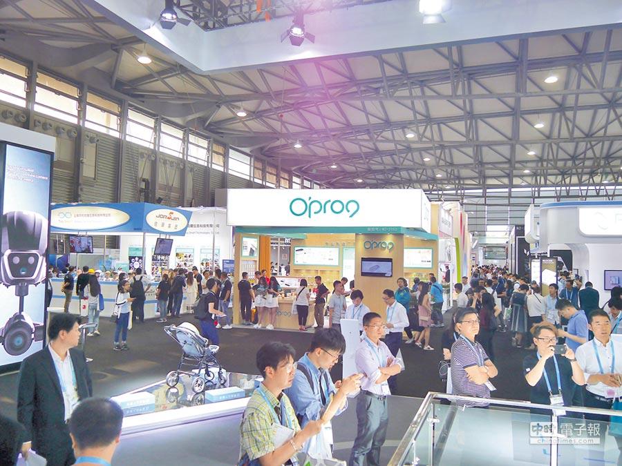 2017年亞洲電子消費展(CES ASIA)於7日在上海舉辦。(記者張國威攝)