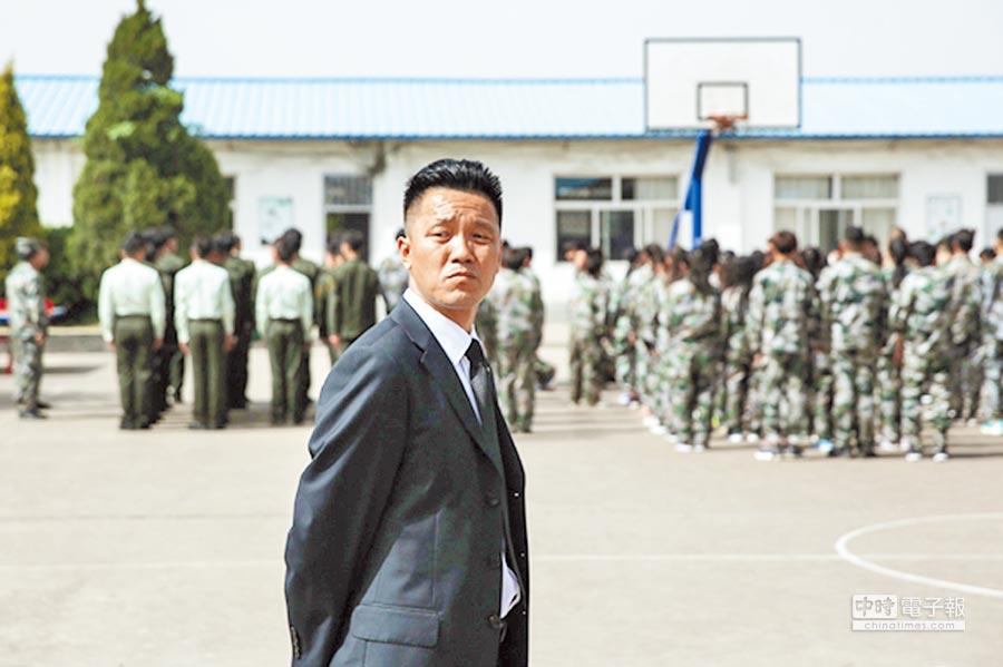 「北大保安讀書第一人」張俊成。(取自《新京報》)