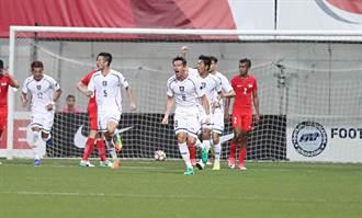 夏維耶、陳昭安一射一頂 中華2比1勝新加坡