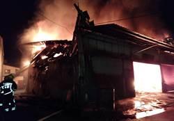 嘉義市深夜發生火警 一男性灼傷