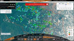 NEC攜手泰國 實證實驗土石流模擬系統