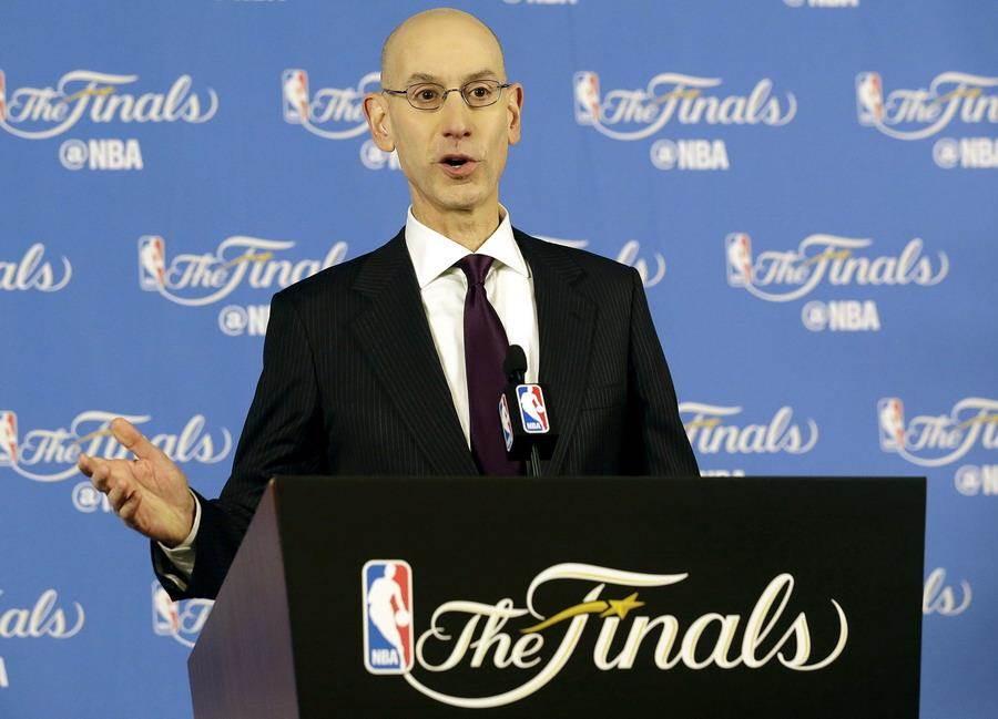 NBA總裁席爾佛打算下季限制各隊輪休情況,只可惜恐怕很難出現成效。(美聯社資料照)