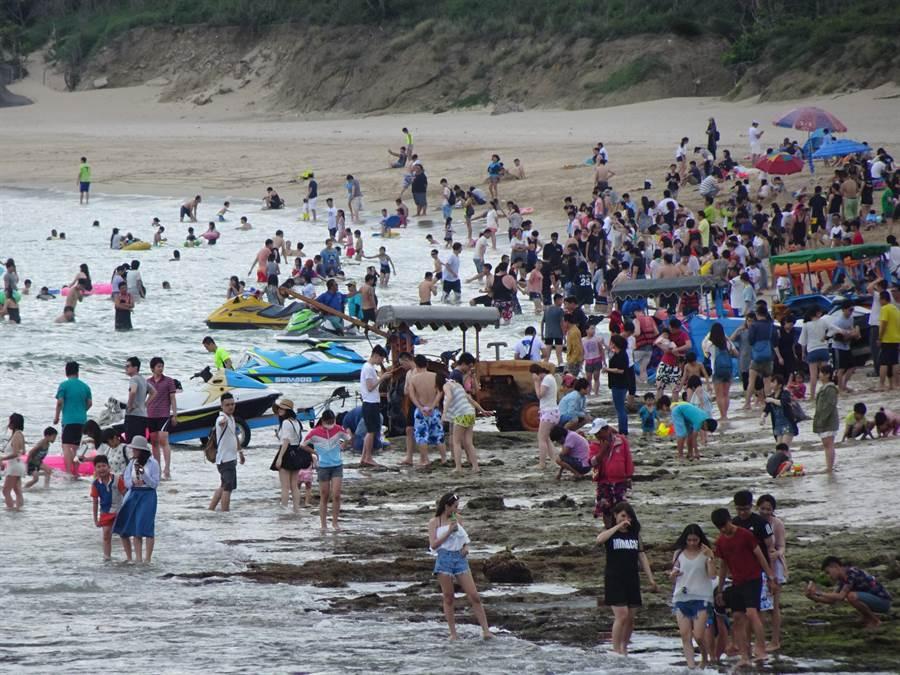 南灣11日下午傳出溺水事件。圖為南灣示意圖。(圖/謝佳潾)