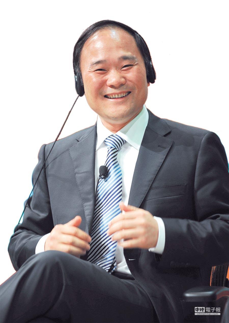 吉利控股集團董事長李書福 圖/新華社