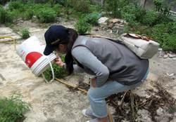 雨後防疫 台南環保局動員百人稽查