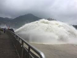 桃園山區恐大雨 石門水庫調節性放水