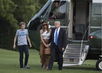 終於!老婆、兒子搬入 川普一家白宮團圓