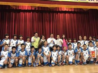 忠貞國小男籃隊首度參加全國賽 從死亡之組奪冠