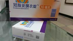 防偽藥 降血脂藥「冠脂妥」加防偽標籤