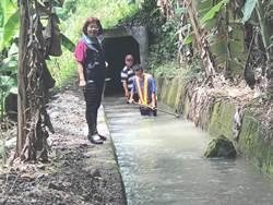 二河局水道疏濬土方堆積 民憂梅雨再淹