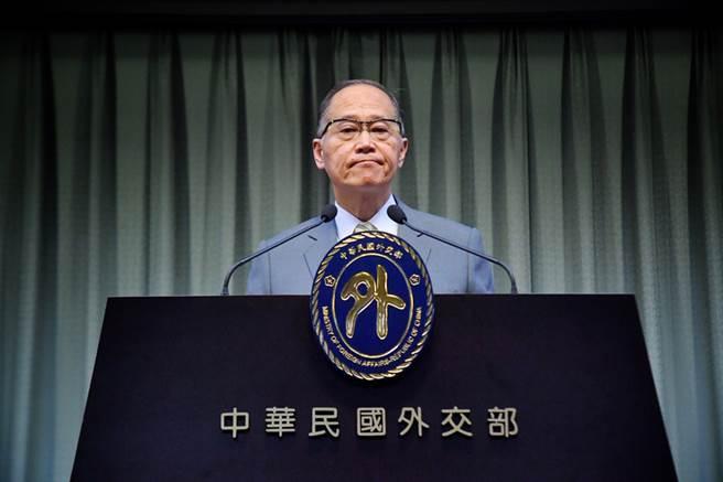 在巴拿馬宣布與中華民國斷交後,中華民國外交部長李大維13日舉行記者會,宣布終止與巴拿馬外交關係。(中央社)