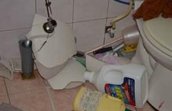 洗手台破裂意外 男浴室內遭斷腳筋失血亡