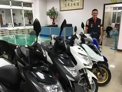 中市警破獲機車竊盜集團 北車南送網拍銷贓