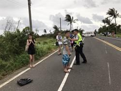 疑吸毒駕車 男如打保齡球撞倒4機車