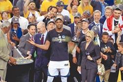 勇士克騎士 重返NBA王座
