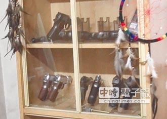 網拍賣槍 開價太高攬到警察