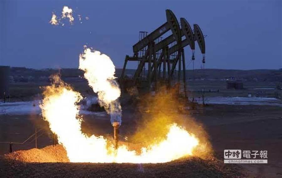 西德州及布蘭特原油期貨線型雙雙再現「死亡交叉」,恐不利國際油價後市的表現。(美聯社)