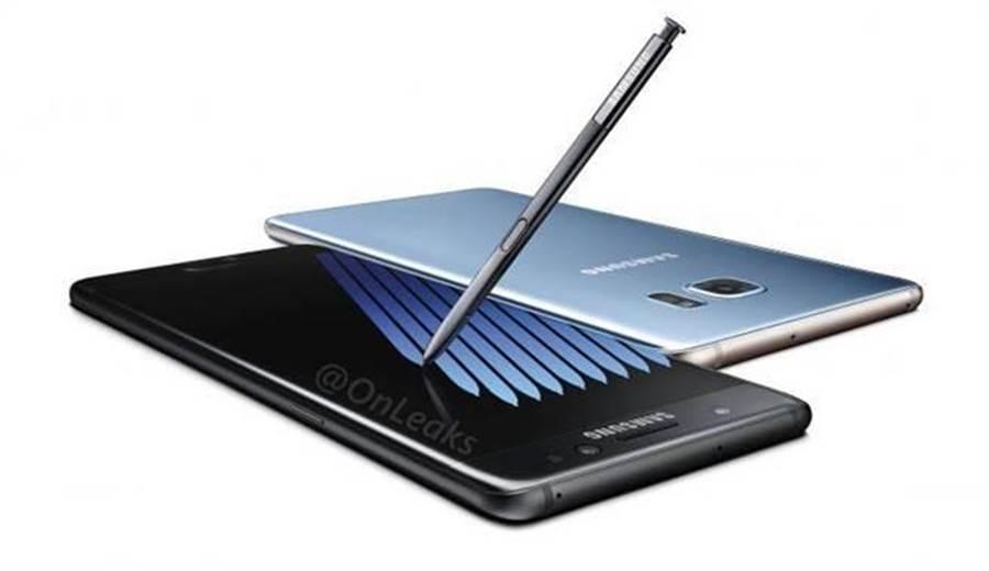 韓媒指出三星預計在八月中旬推出Galaxy Note 8。圖為三星Note 7。(圖/翻攝三星官網)