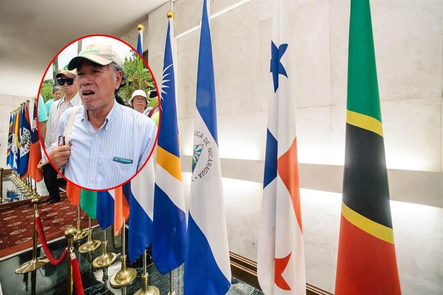 我国与巴拿马于昨日断交,自由台湾党主席蔡丁贵认为是「中华民国流亡政府」的外交重大挫折,并不是台湾国。(本报资料照片合成)