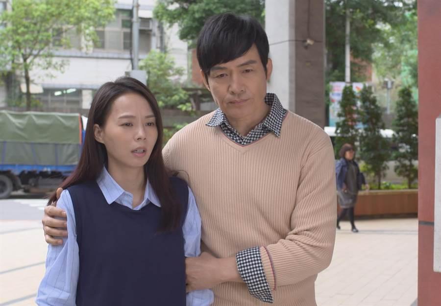 霍正奇與孫淑媚第一次戲劇合作。(圖片提供:台視)