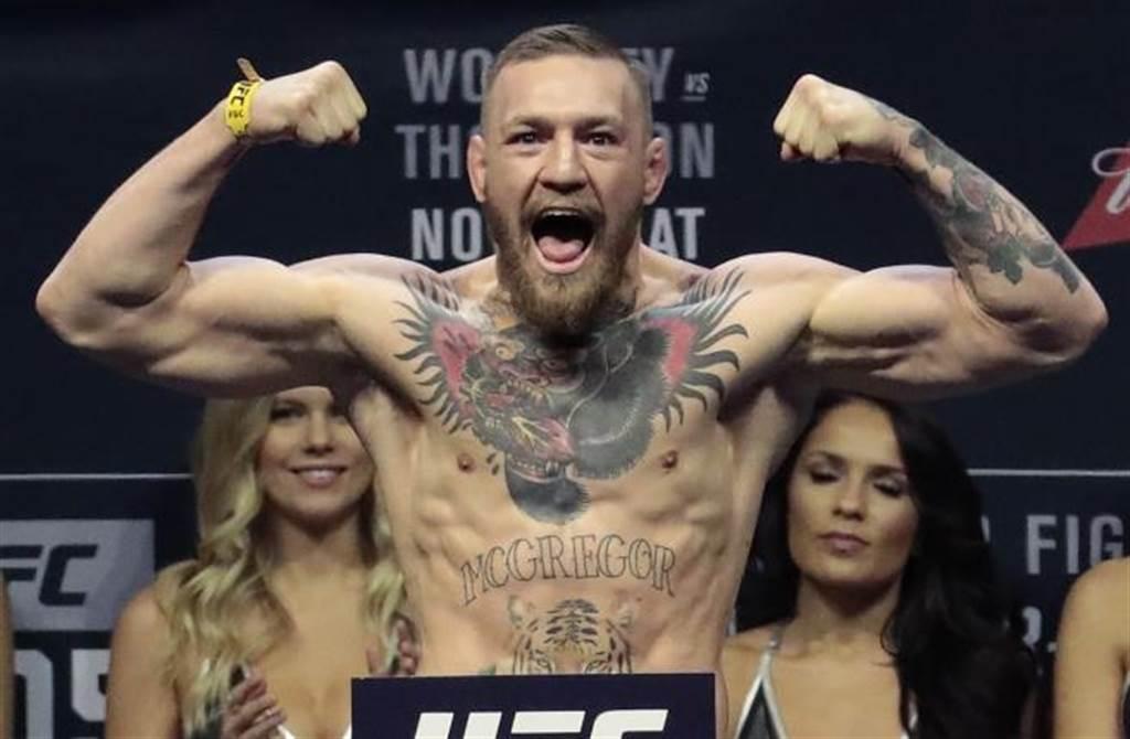UFC輕量級拳王麥葛雷。(美聯社資料照)