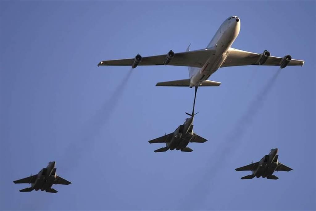 F-15戰機。(圖/美聯社)