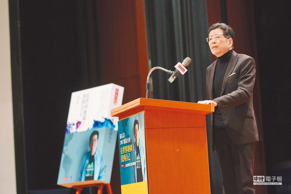 公益平台文化基金會董事長嚴長壽先生於全台巡迴演講。圖/業者提供